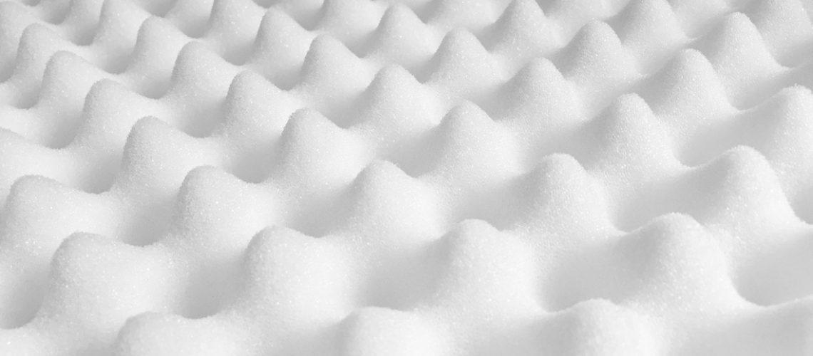 Memory foam texture